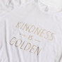 Kindness Is Golden - Women's Fitted T-Shirt