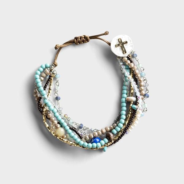 Your Journey Prayer Bracelet - Turquoise