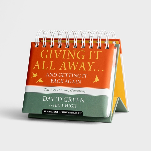 David Green - Giving It All Away - Perpetual Calendar