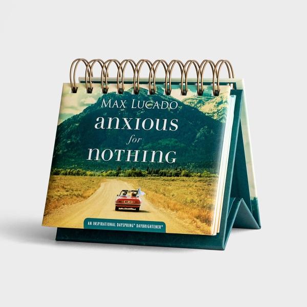 Max Lucado - Anxious for Nothing - Perpetual Calendar