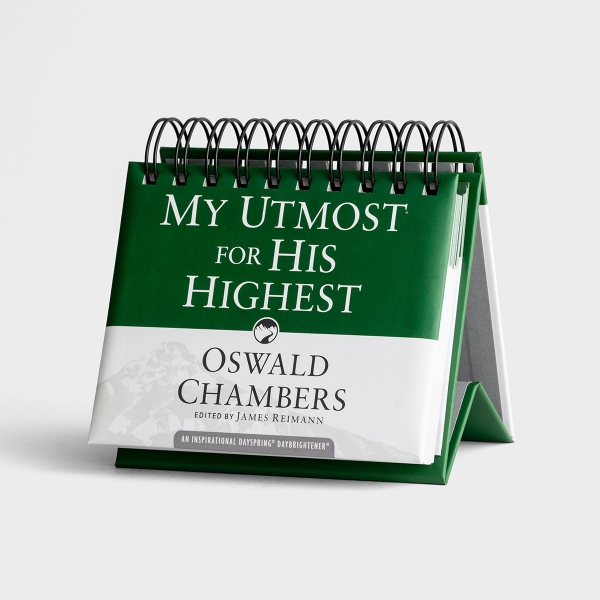 Oswald Chambers - My Utmost For His Highest - Perpetual Calendar
