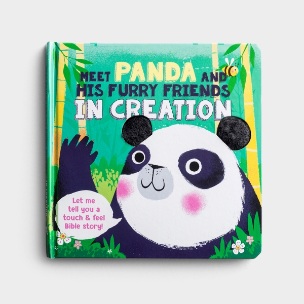 Meet Panda and His Furry Friends - Touch 'N' Feel Board Book