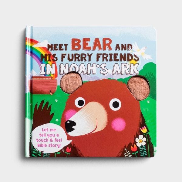 Meet Bear and His Furry Friends - Touch 'N' Feel Board Book
