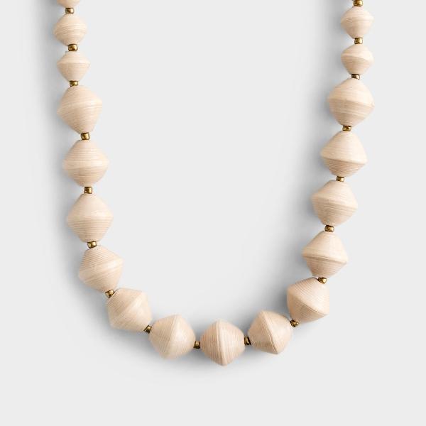Single Strand Bead Necklace