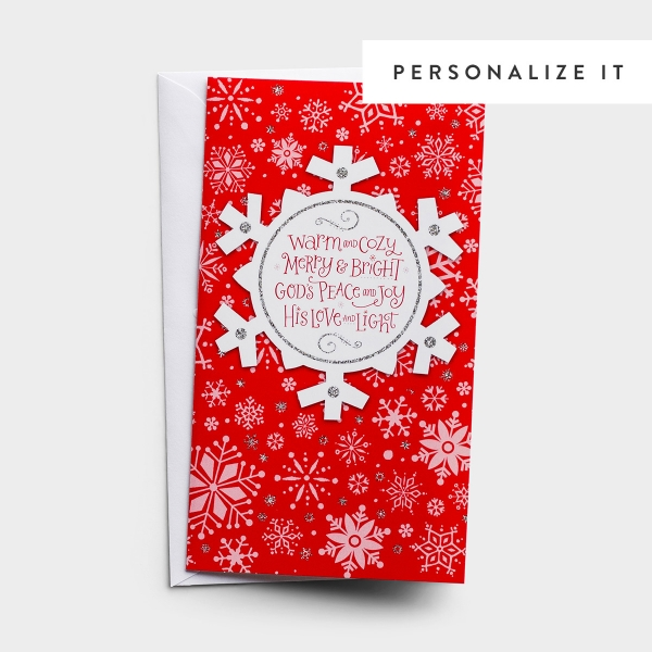 Little Inspirations - Warm, Cozy, Merry & Bright - 16 Christmas Boxed Cards