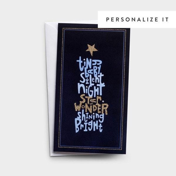 Little Inspirations - Tiny Baby - 16 Christmas Boxed Cards, KJV