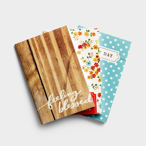 Back to Basics - Pocket Notebooks, Set of 3