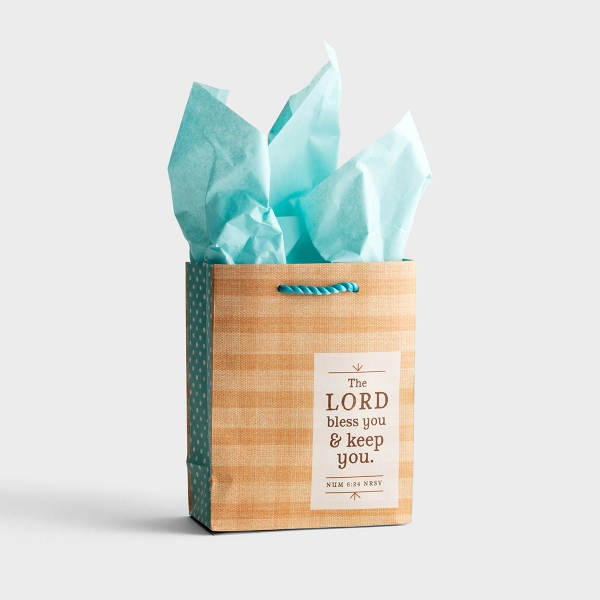 Lord Bless You - Small Gift Bag with Tissue
