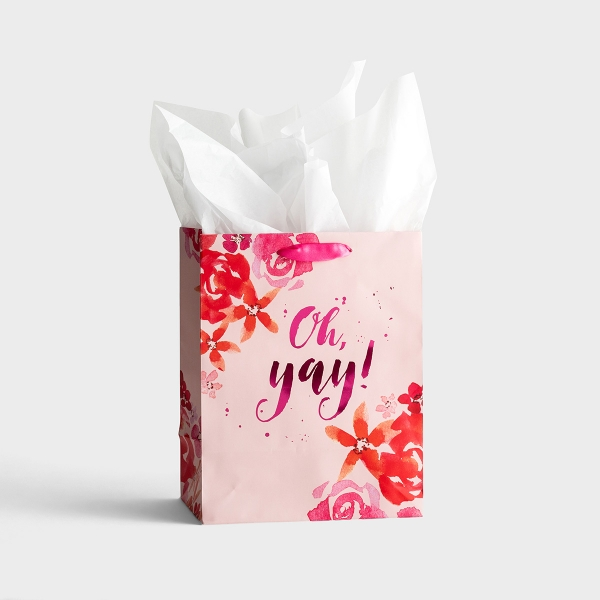 Oh, Yay - Medium Gift Bag with Tissue