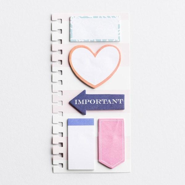 Important - Agenda Planner Sticky Notes Insert