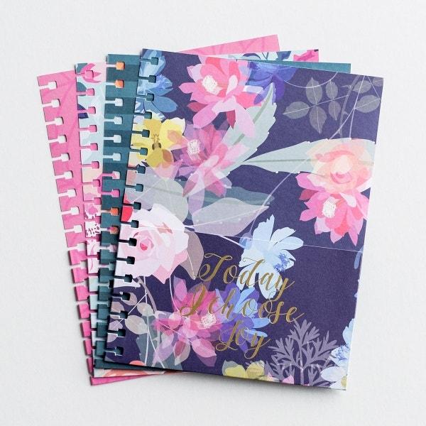 Today I Choose Joy - Agenda Planner Pocket Inserts, Set of 4