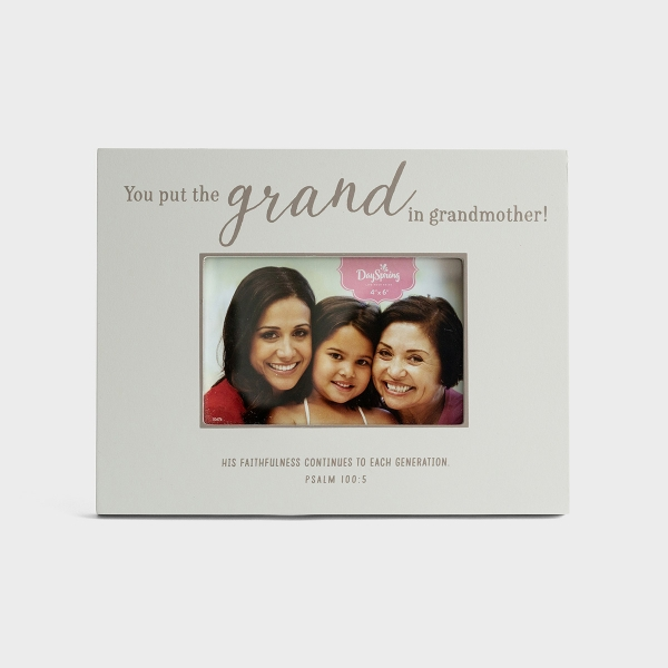 Grand Grandmother - Wooden Picture Frame