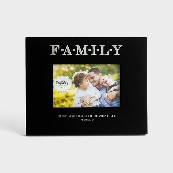 Blessings of God - Family Picture Frame