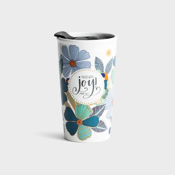 Filled with Joy - Ceramic Tumbler