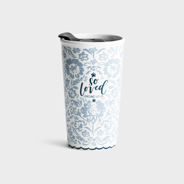 So Loved - Ceramic Tumbler