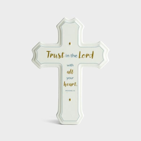Trust in the Lord - Decorative Cross