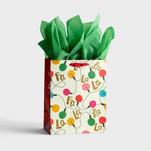 Sing for Joy - Medium Christmas Gift Bag