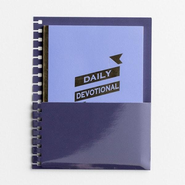 Daily Devotional - Agenda Planner Jotter with Pocket Holder Insert