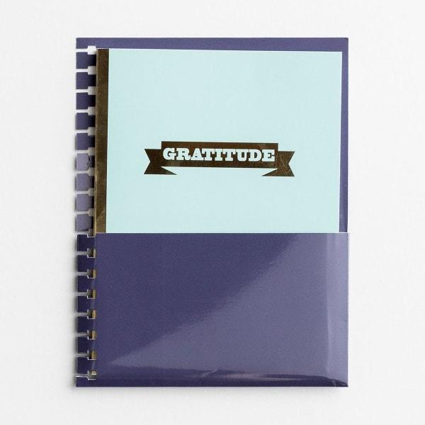 Gratitude - Agenda Planner Jotter with Pocket Holder Insert
