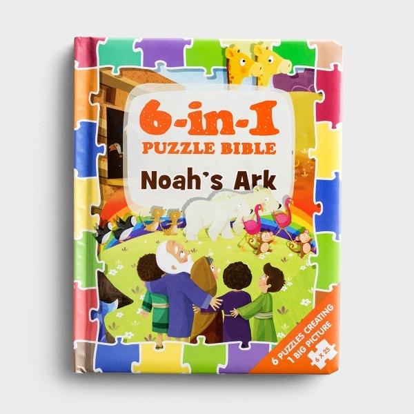 Noah's Ark - 6-in-1 Puzzle Bible