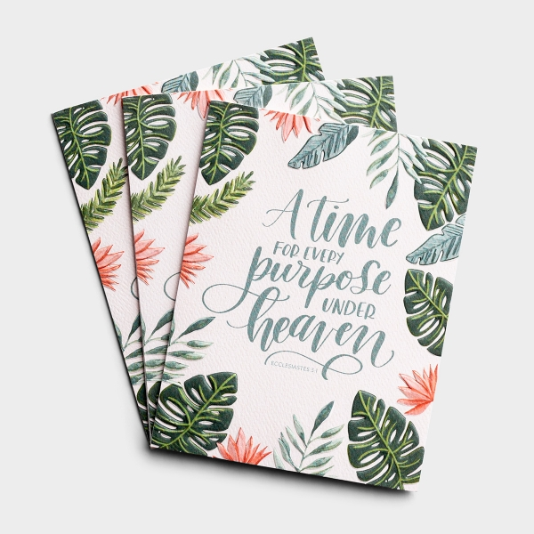 Birthday - A Time For Every Purpose - 3 Premium Studio 71 Cards