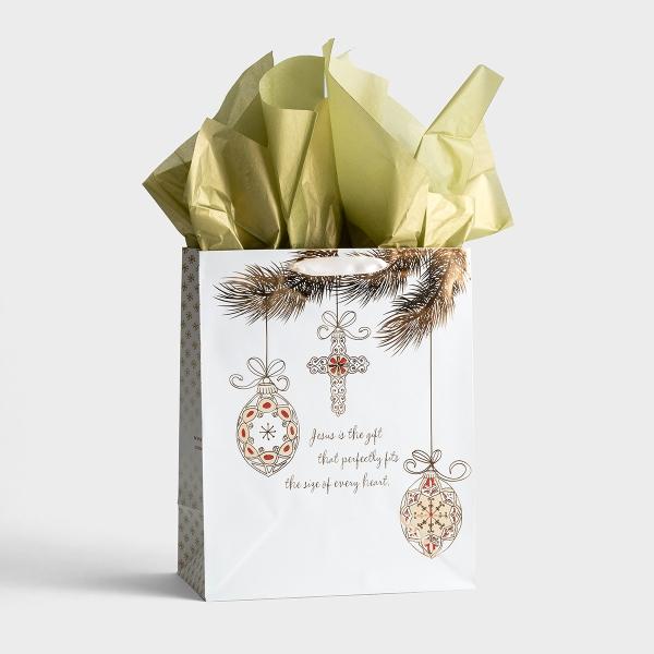 Jesus Is the Gift - Large Christmas Gift Bag