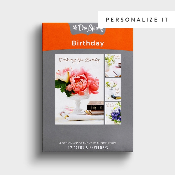 Birthday - Classic KJV - 12 Boxed Cards