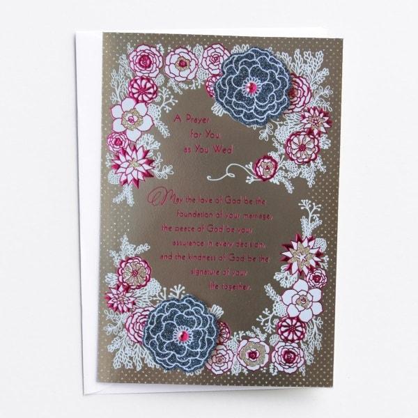 Wedding - A Prayer for You - 1 Premium Card