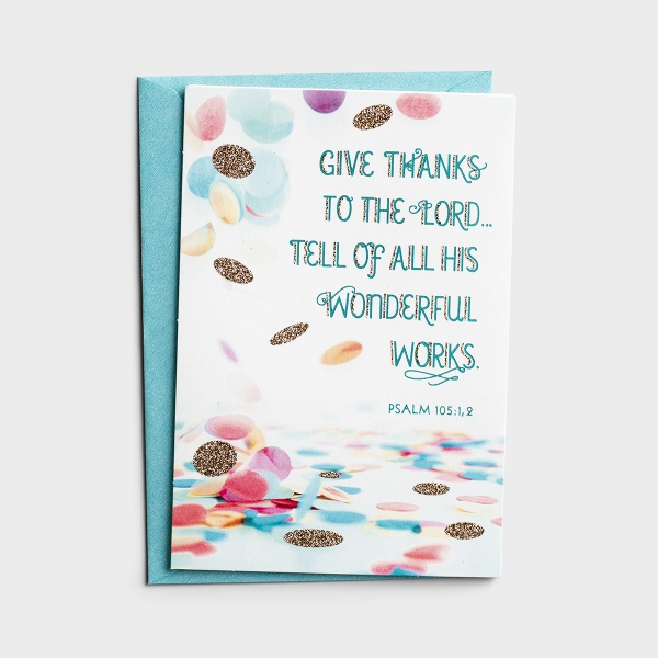 Baby - Give Thanks - 6 Premium Cards