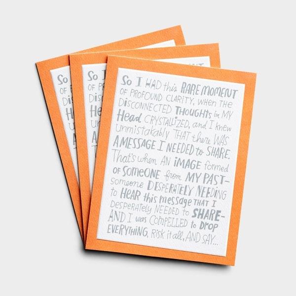 Thinking of You - Hi - 3 Premium Studio 71 Cards
