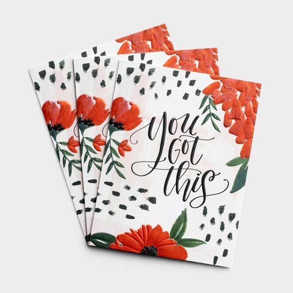 Praying For You - You Got This - 3 Premium Studio 71 Cards