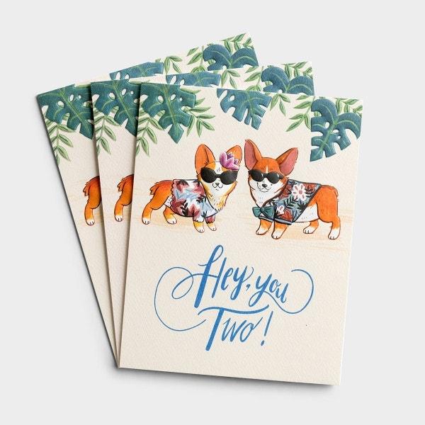 Anniversary - Hey, you Two - 3 Premium Studio 71 Cards
