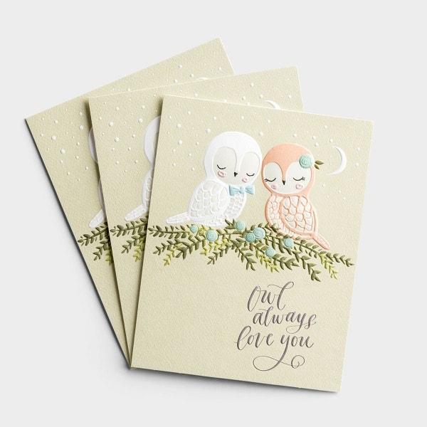 Anniversary - Owl Always Love You - 3 Premium Studio 71 Cards