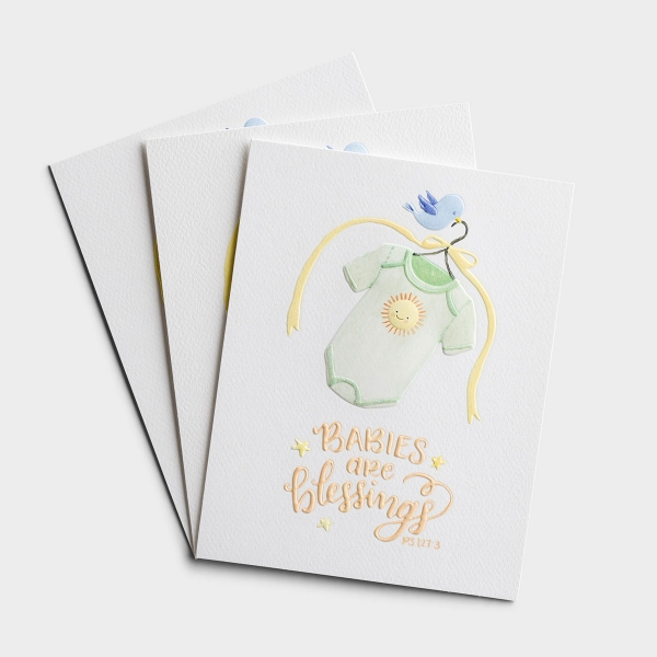 Baby - Babies Are Blessings - 3 Premium Studio 71 Cards