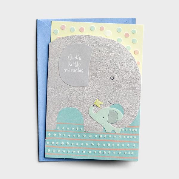 Baby Boy - Big Celebration - 1 Premium Card