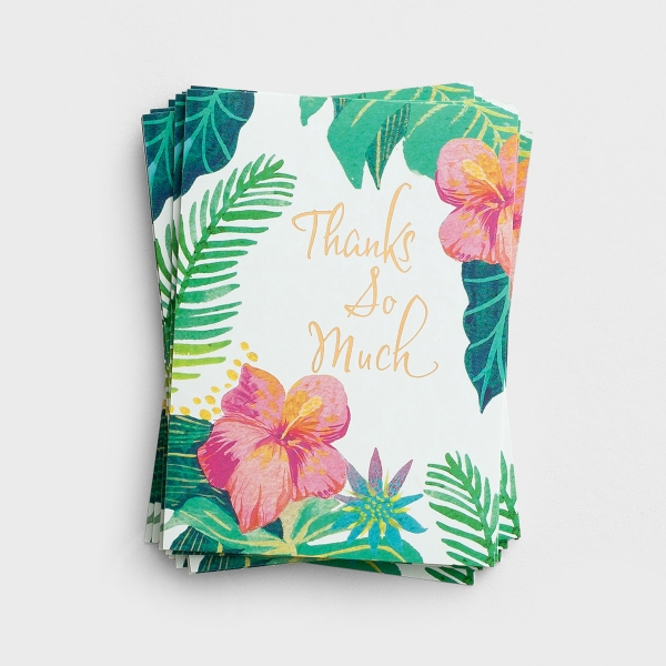 Thanks So Much - 10 Premium Note Cards