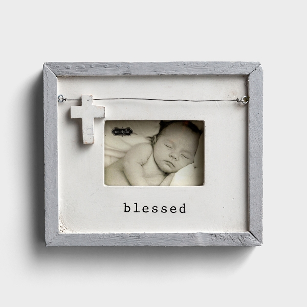 Blessed - Wooden Picture Frame