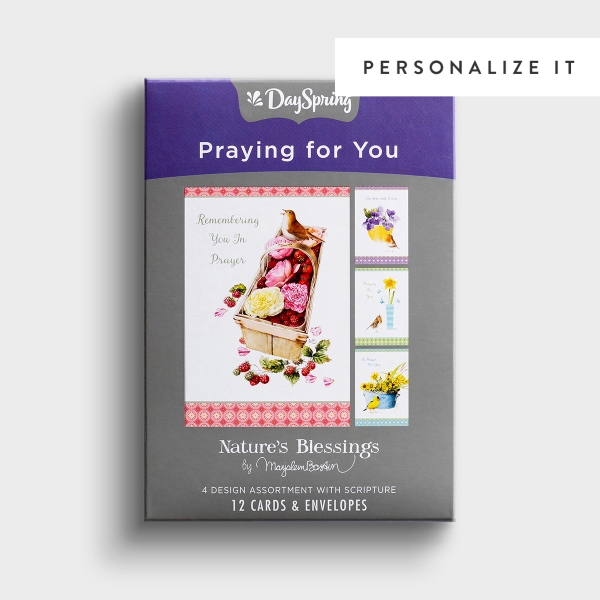 Nature's Blessings - Praying for You - 12 Boxed Cards