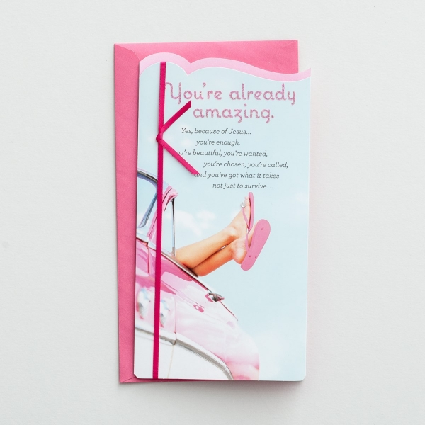 Holley Gerth - You're Already Amazing - 1 Greeting Card
