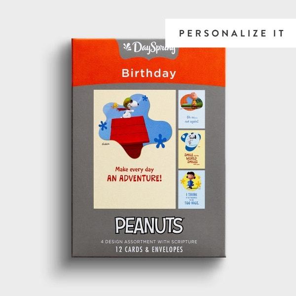 Peanuts - Birthday - The Peanuts Movie - 12 Boxed Cards