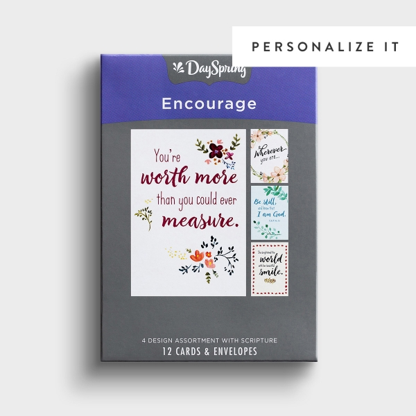 Encouragement - Words that Encourage - 12 Boxed Cards