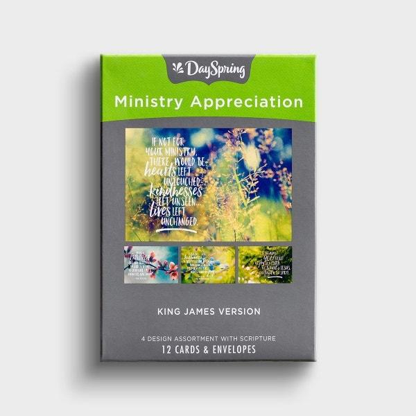 Ministry Appreciation - Nature - 12 Boxed Cards, KJV