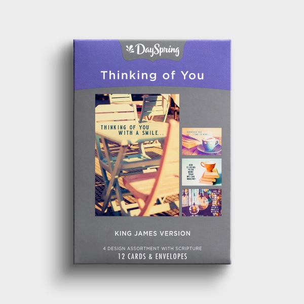 Thinking of You - Special Reminders - 12 Boxed Cards, KJV