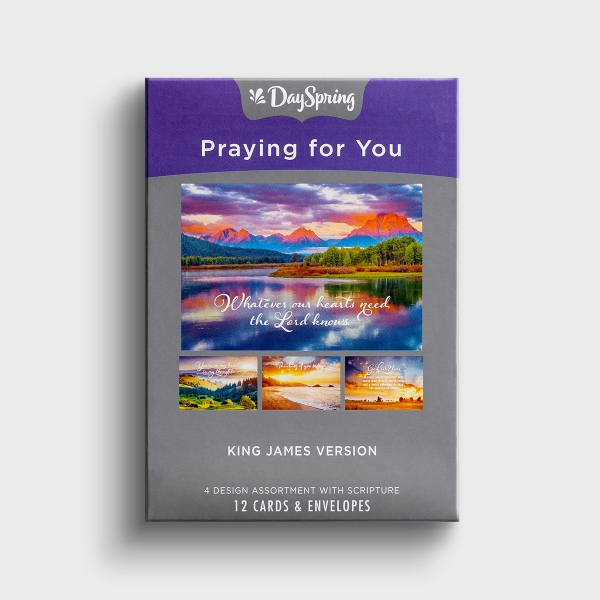 Praying for You - Heartfelt Expressions - 12 Boxed Cards, KJV