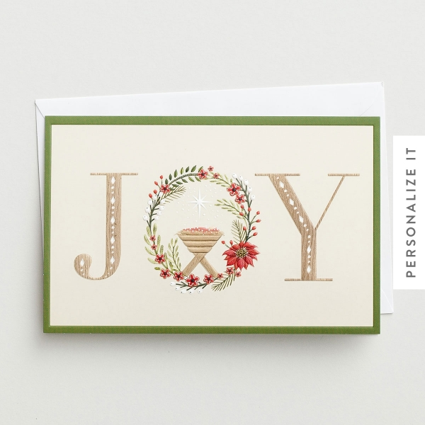 Joy - 50 Christmas Boxed Cards, KJV