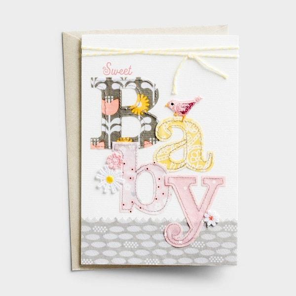 Baby Girl - Sweet Baby - 2 Premium Cards