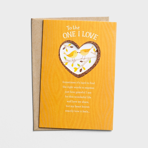 Thanksgiving - Love - To the One I Love - 1 Premium Card