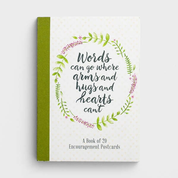 Words of Encouragement - Book of 20 Postcards