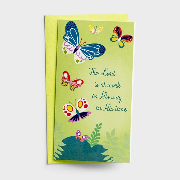 Little Inspirations - Praying for You - The Lord Is at Work - 6 Cards Per Pack