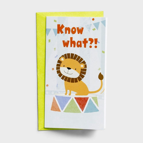 Little Inspirations - Encouragement for Kids - Know What - 6 Cards Per Pack